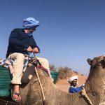 Sebastian on camel