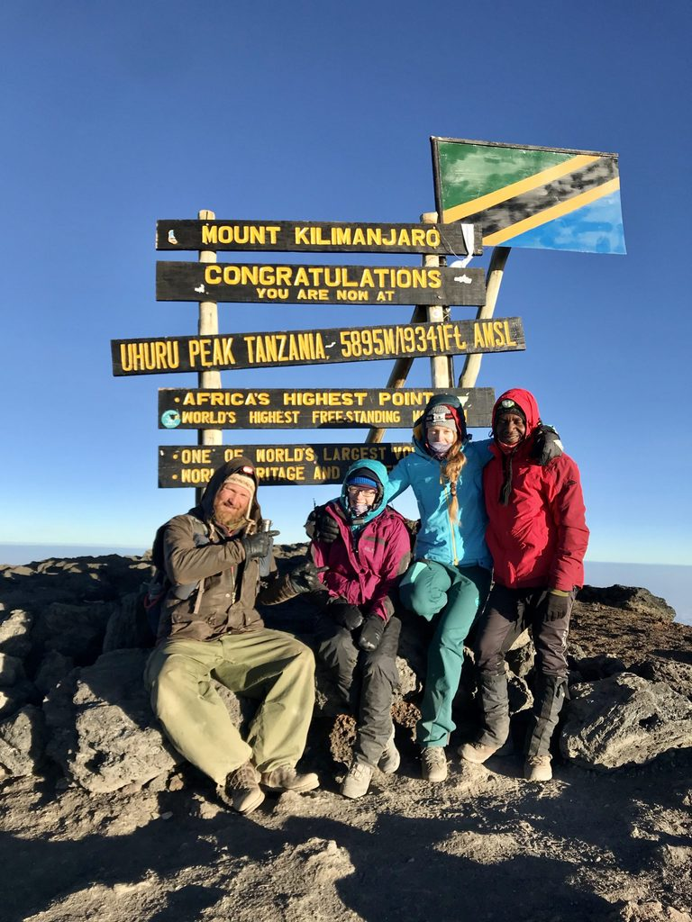kili experience on top of africa